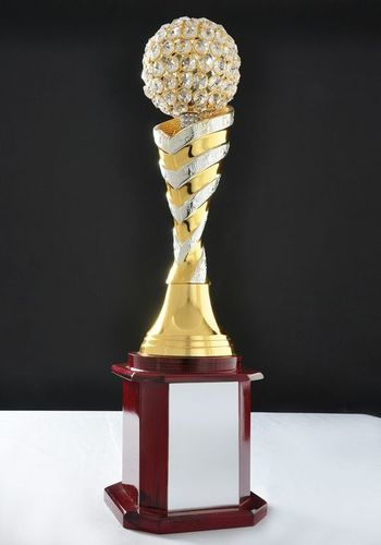Double Tone Diamond Trophy