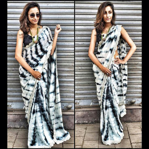 Ladies Batik Print Sarees