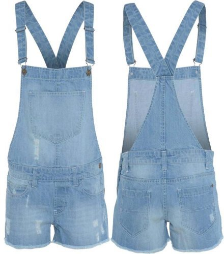 Ladies Dungarees in  63-Sector