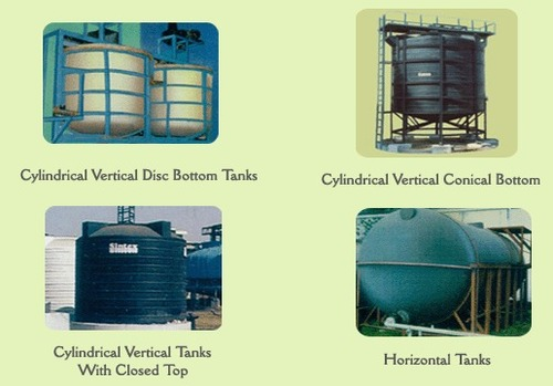Chemical Tanks in  New Area