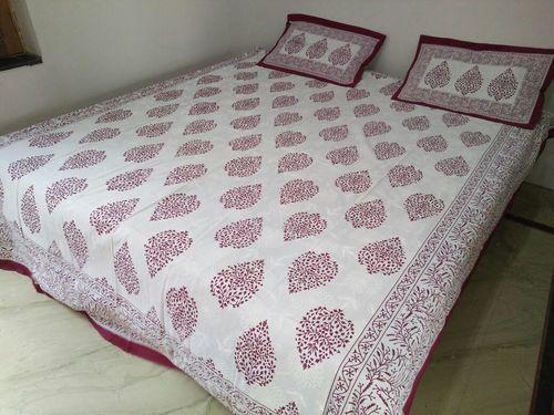 Double Bed Sheet Set Khadi