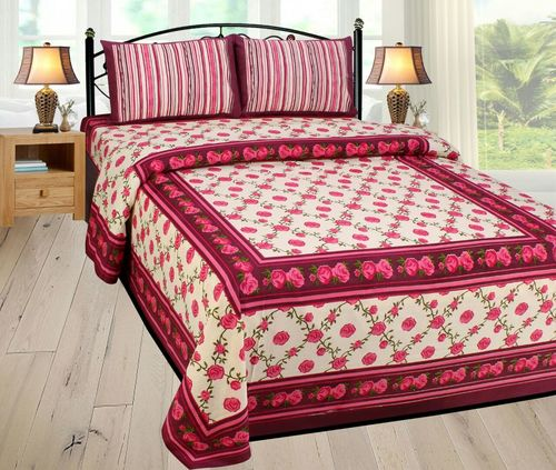 Fancy Double Bed Sheet Set