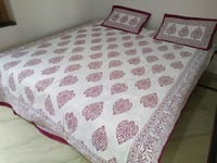 Khadi Double Bed Sheet