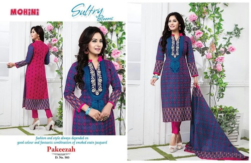 Mohini Sultry Blooms Unstitched Salwar Suit