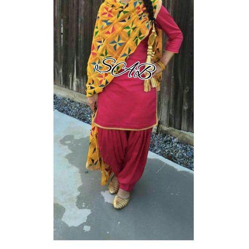 Designer Phulkari Dupatta