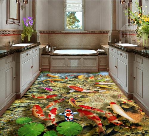 Large 3D Floor Tile in  Pitampura