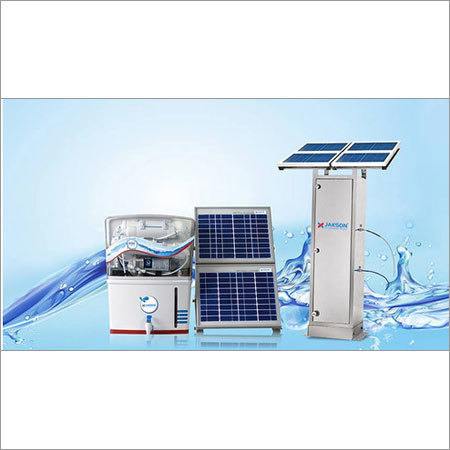 Solar Water Purification System in  R.K. Road