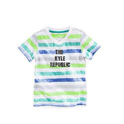 Boys Reverse Printed V Neck T Shirts