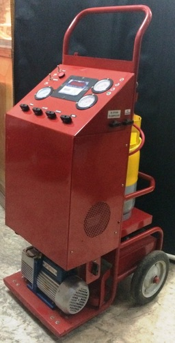 Auto Air Conditioning Recovery Recycling Evacuating And Charging Unit