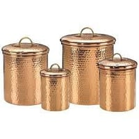 Copper Fancy Container
