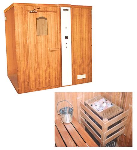 Sauna Cabin Deluxe / Taap Sweden Yantra