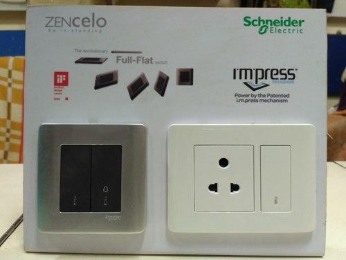 wholesale online new photos hot sale Modular Switches (Schneider Zencelo) - SHREE DURGA ELECTRIC ...