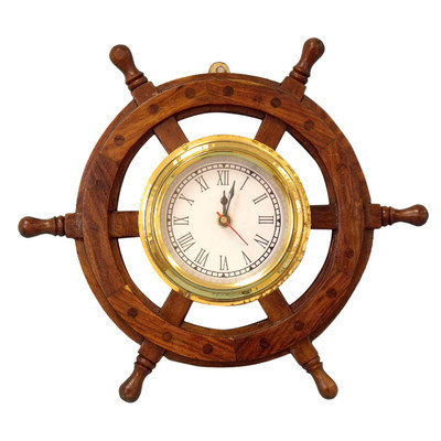 Decorative Nautical Ship Wheel