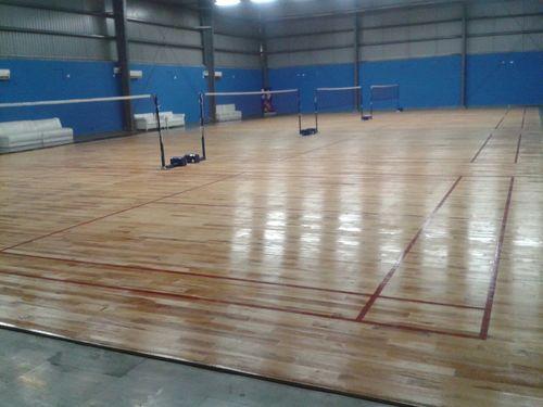 Maple Wood Badminton Court Flooring