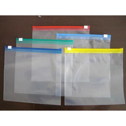 PVC Zip Lock Pouches