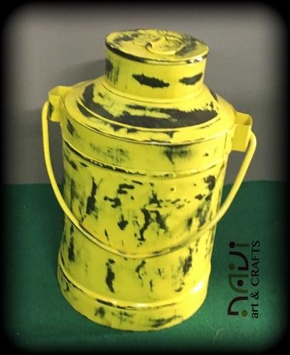 Milkcan Flower Pot