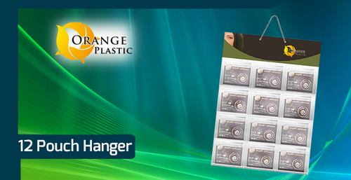 12 Pouch Display Hanger