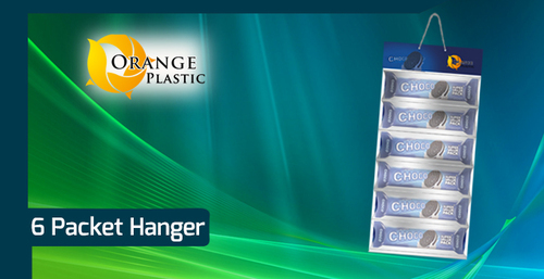 6 Pouch Display Hanger
