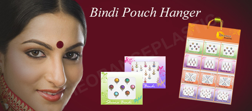 Bindi Wrapper Display Hanger