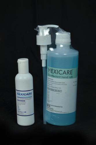 Chlorhexidine Hand Rubs