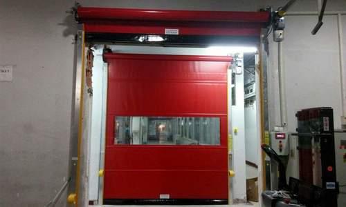 Pvc Plastic Sectional Door