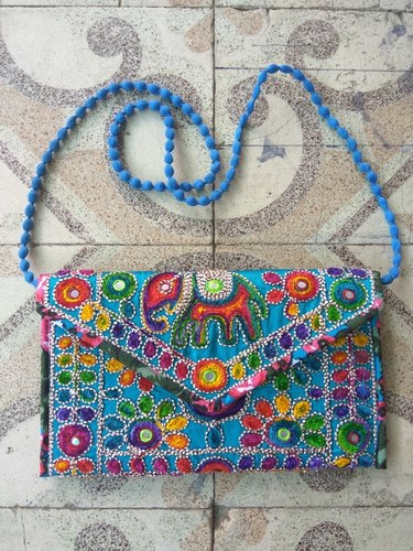 Coding Embroidery Ladies Hand Bag