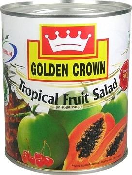 Golden Crown Brand Fruit Cocktail Premium