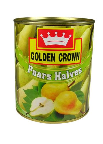 Golden Crown Brand Pear Halves