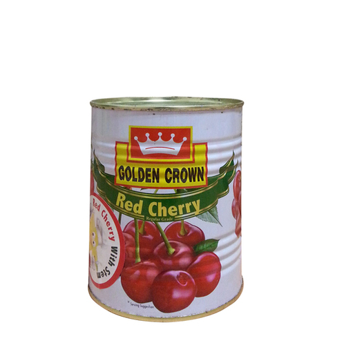 Golden Crown Brand Red Cherry With Stem Regular