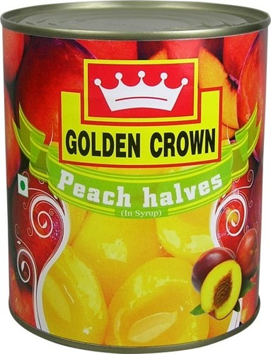 Golden Crown Peaches Halves in  Connaught Place