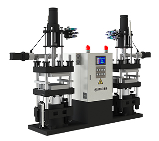 Jll-V Double Working Station Vertical Rubber Injection Machine