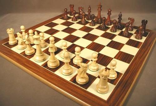 Designer Wooden Chess Set
