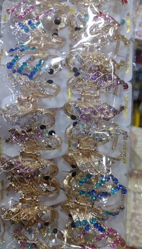 Butterfly Imitation Hair Clips