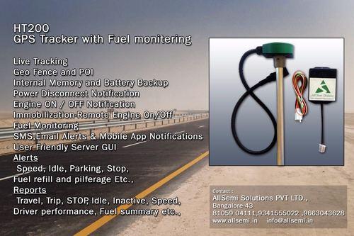 GPS With Fuel Sensor