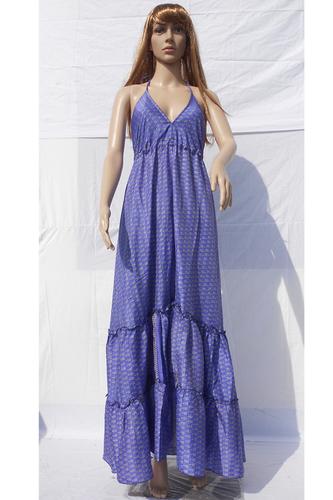 Ladies Summer Sleeveless Maxi Dress