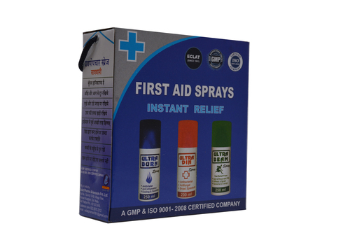 Ultra First Aid Spray Kit