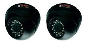 CPDY42L2 CP Plus Indoor Camera with IR (Dome Model)