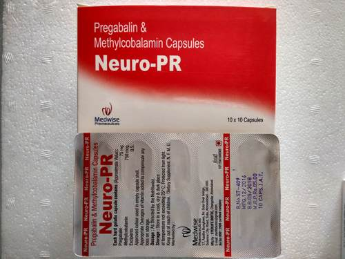 Neuro Pr Pregabalin And Methylcobalamin Capsules