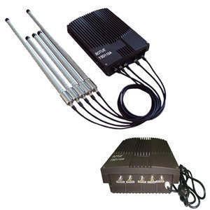Quad Band Mobile Signal Jammer High Power