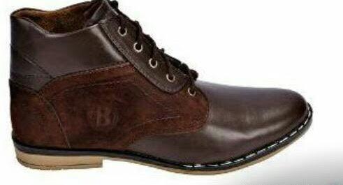 Smart Brown Mens Shoes in  Naraina