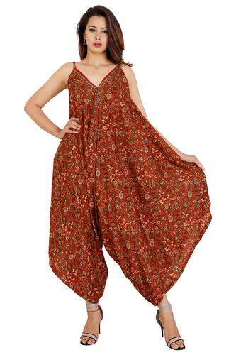 Vintage Silk Woman Long Maxi Dress