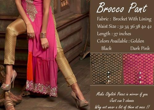 Ladies Brocco Pant