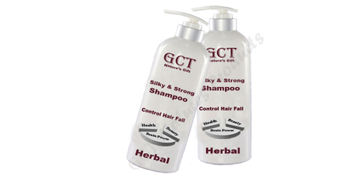 Herbal Silky And Strong Shampoo