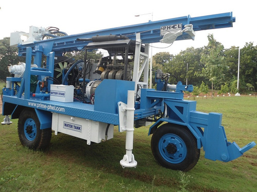 Self Propelled Trolley Mounted Portable Drill Rig