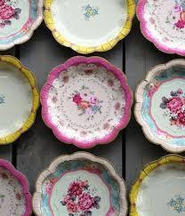 Designer Paper Plates