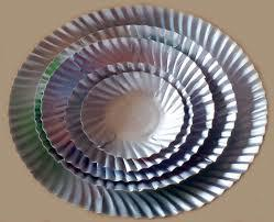 Durable Silver Paper Plates