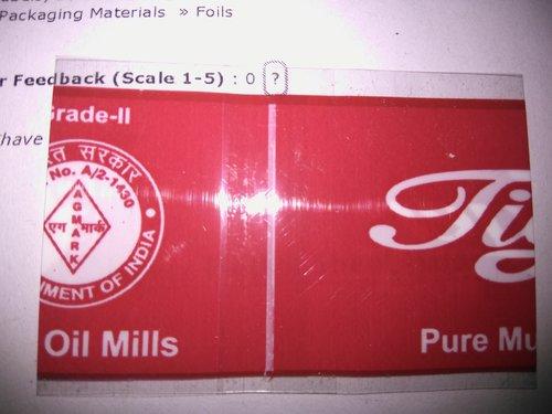 Plain PVC Shrink Labels