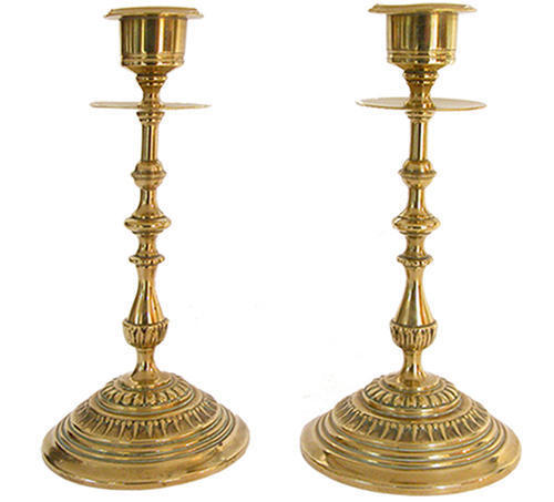 Brass lamp in barablan
