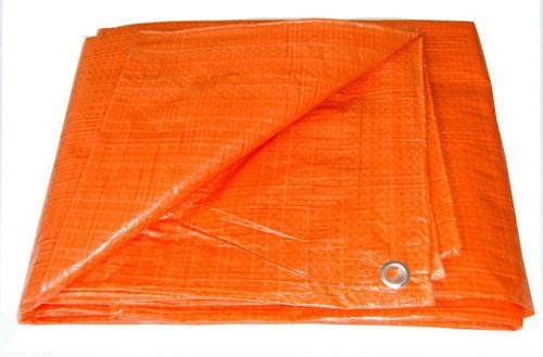 Orange Pvc Tarpaulin