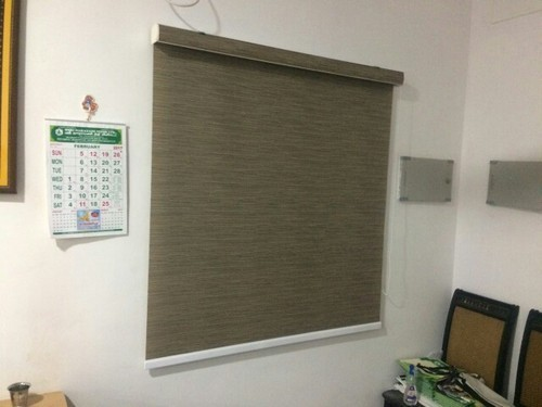 Roller Blinds With Pelmet